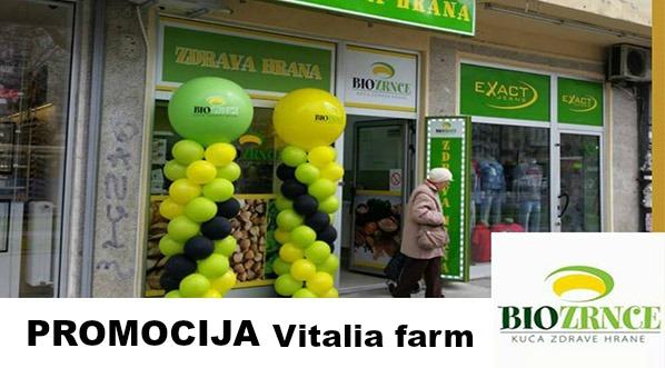 Idi na PROMOCIJA Vitalia farm proizvoda u Novom Sadu!